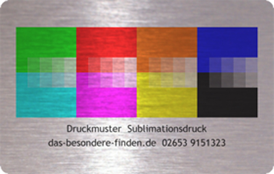 Muster Sublimationsdruck